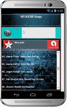 MUKESH Super Hit Songs apk screenshot