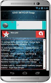 AJAY DEVGAN Super Hit Songs apk screenshot