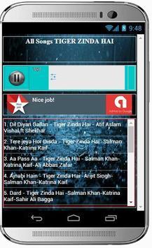 Best Songs TIGER ZINDA HAI screenshot 1