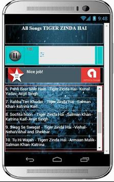 Best Songs TIGER ZINDA HAI screenshot 2