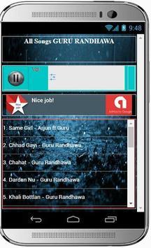 GURU RANDHAWA Super Hit Songs screenshot 1