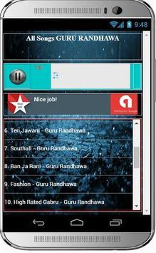 GURU RANDHAWA Super Hit Songs screenshot 2