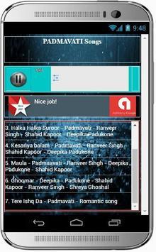 PADMAVATI - Ghoomar Hit Songs apk screenshot