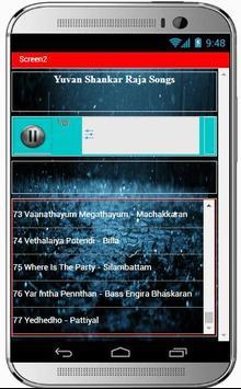 YUVAN SHANKAR RAJA Super Hit Songs apk screenshot