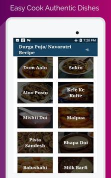 Durga Puja & Navratri Festival Food Recipe screenshot 17