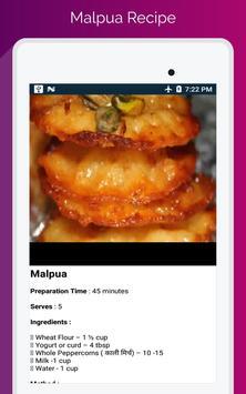 Durga Puja & Navratri Festival Food Recipe screenshot 21