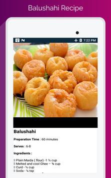 Durga Puja & Navratri Festival Food Recipe screenshot 23