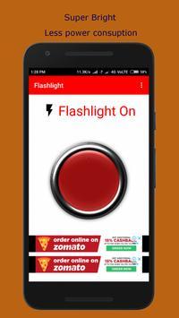 Flashlight - Super Bright Torch screenshot 3