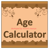 Age calculator maurya icon