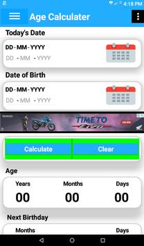 Age calculator maurya screenshot 1