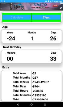 Age calculator maurya screenshot 3