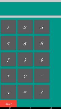 Calculator simple poster