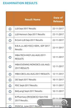 Osmania university results apk screenshot