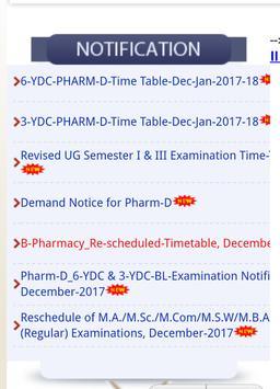 Palamuru university results apk screenshot