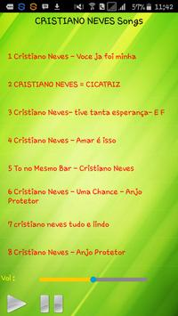 All song Cristiano Neves screenshot 1