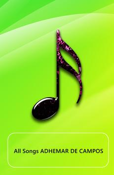 All song ADHEMAR DE CAMPOS poster
