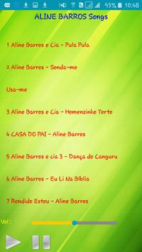 All song Aline Barros apk screenshot