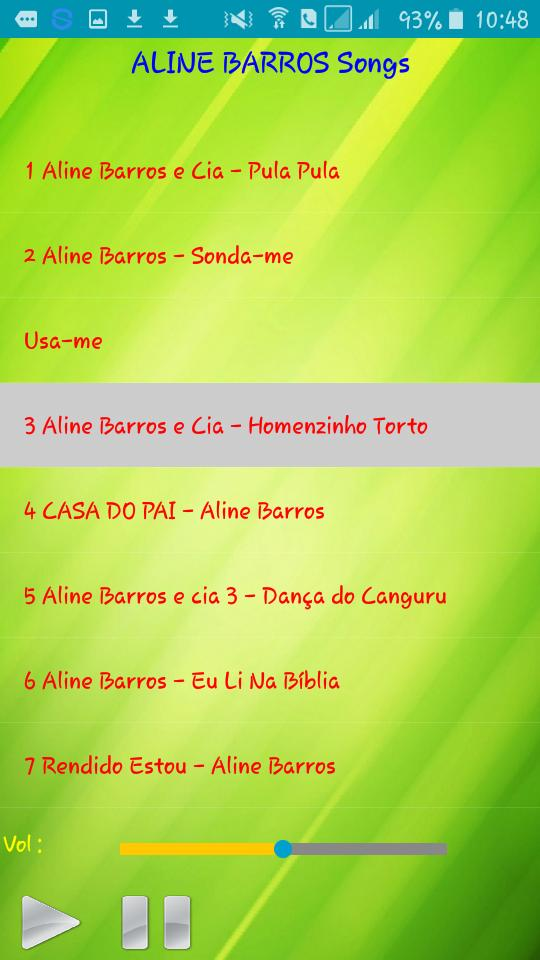 All Song Aline Barros For Android Apk Download