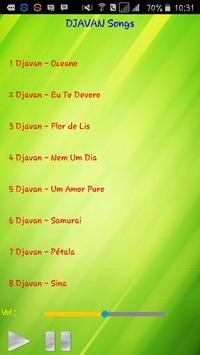 All song Djavan screenshot 1