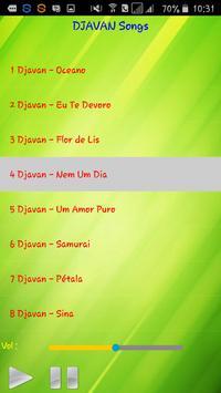 All song Djavan screenshot 2