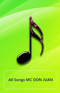 All song MC DON JUAN poster