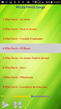 All song MILES DAVIS apk screenshot