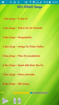 All song Seu Jorge apk screenshot