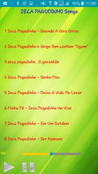 All song Zeca Pagodinho screenshot 1
