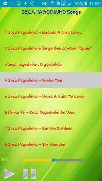 All song Zeca Pagodinho screenshot 2