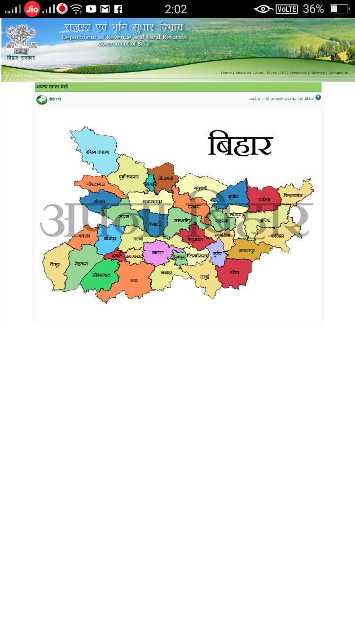Bihar Bhulekh - Land Record Information & Land Map for