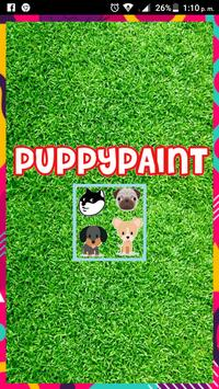 Puppy Paint - Game Painting for Kids poster