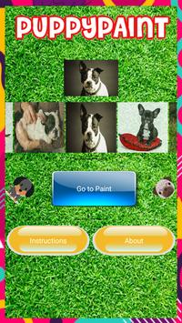 Puppy Paint - Game Painting for Kids screenshot 1