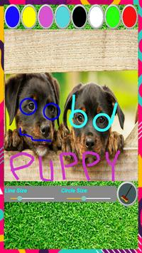 Puppy Paint - Game Painting for Kids screenshot 5