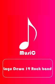 DEWA 19 Rock Band Song poster