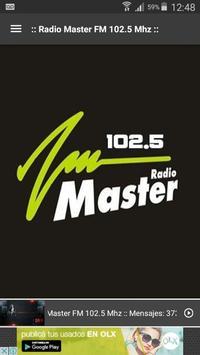 Radio Master FM 102.5 poster