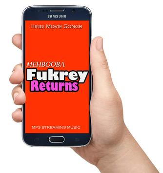 Mehbooba - Fukrey Returns poster