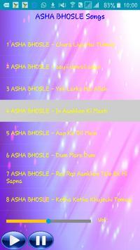 All Songs ASHA BHOSLE apk screenshot