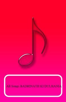 All Songs BADRINATH KI DULHANIA poster