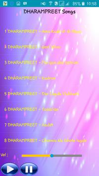 All Songs DHARAMPREET apk screenshot