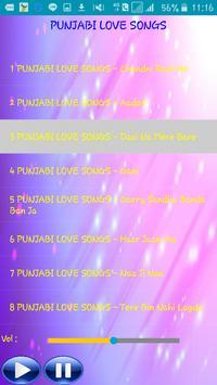 PUNJABI LOVE SONGS apk screenshot