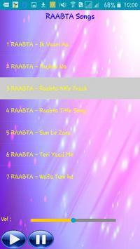 All Songs RAABTA apk screenshot