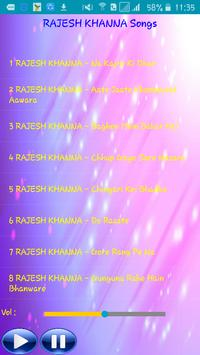 RAJESH KHANNA Songs screenshot 1