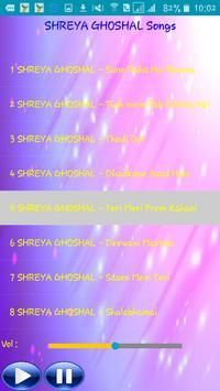 All Songs SHREYA GHOSHAL screenshot 2