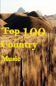 Top 100 Country Songs poster