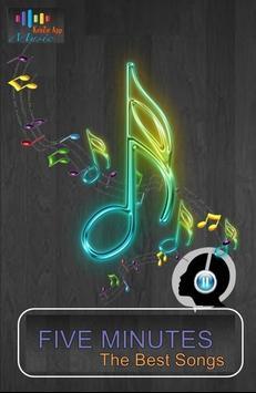 Lagu FIVE MINUTES Lengkap - Bertahan - Aisah screenshot 2