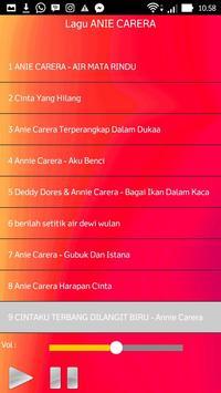 Lagu ANIE CARERA apk screenshot