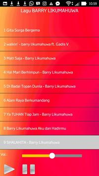 Lagu BARRY LIKUMAHUWA apk screenshot