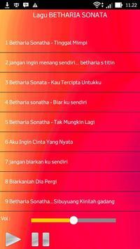 Lagu BETHARIA SONATA Terlengkap screenshot 1