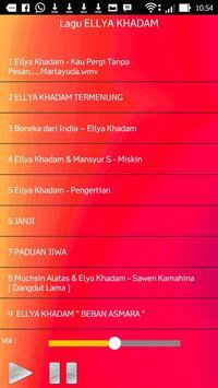 Lagu ELLYA KHADAM screenshot 1