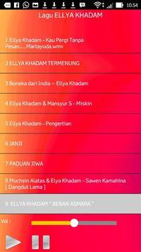 Lagu ELLYA KHADAM screenshot 2
